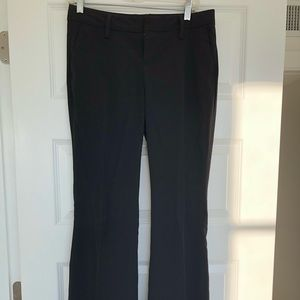 Gap straight leg black dress pant